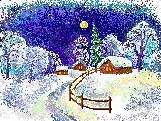 Приключение в новогоднюю ночь или Бродячие артисты