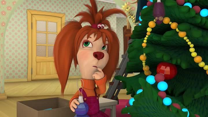 Сценарий новогоднего представления для детей «Барбоскины и Новый год».
